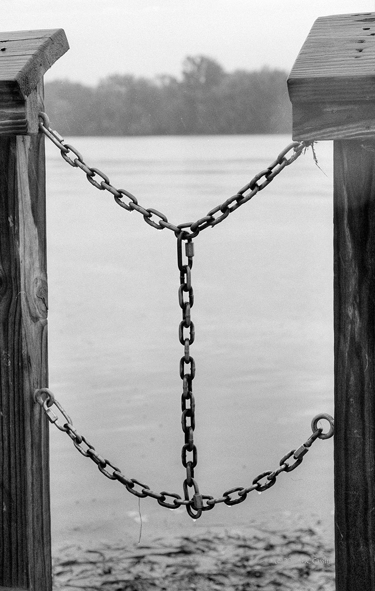 Chains on the Dock