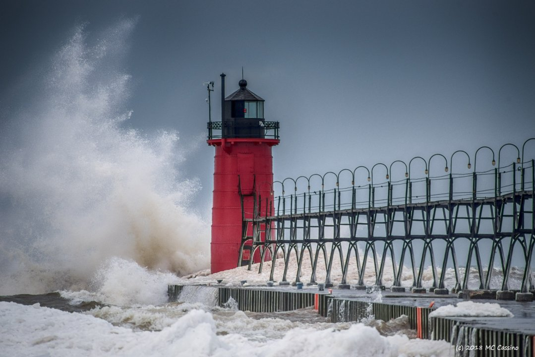 High Winds at South Haven