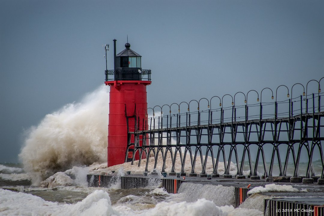 High Winds At South Haven II