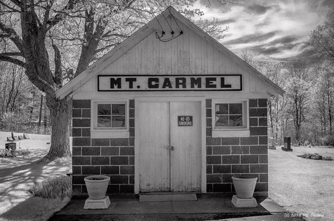 Shed, Mount Carmel Cemetery