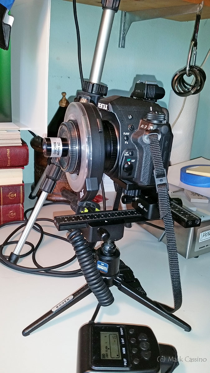 Macro Setup Using Otamat 20mm f1.7