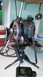 Macro Setup Using Otamat 20mm f1.7