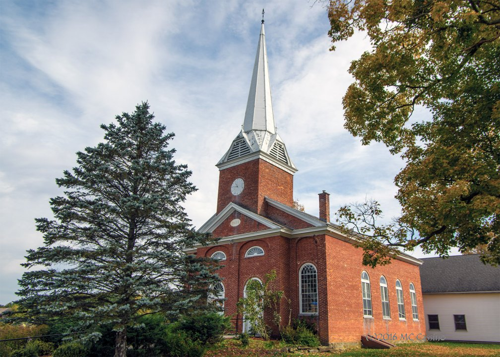 Brick Church, Clarendon Vermont