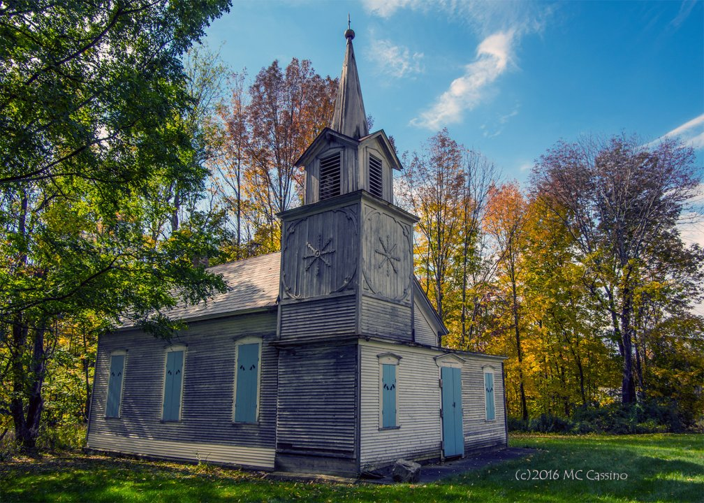 Rural Chapel, East Clarendon, Vermont