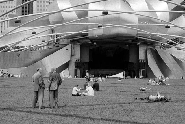 Chicago - Millennium Park Amphitheater