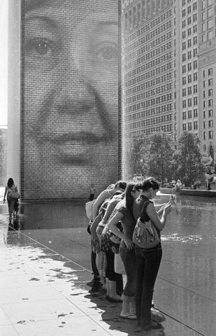 Chicago - Photographers in Millennium Park