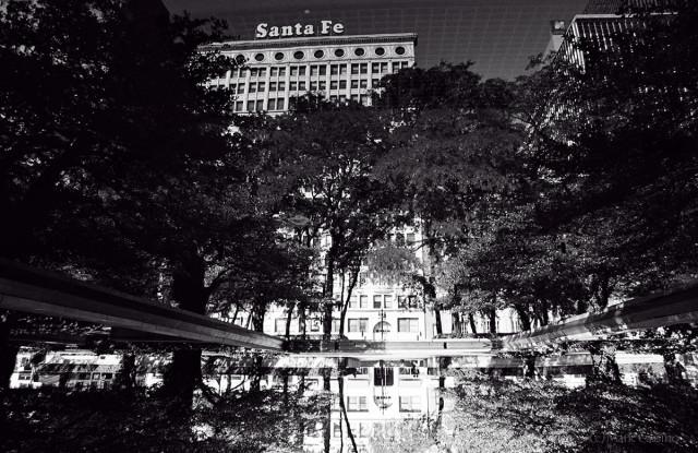 Chicago - Santa Fe Reflection